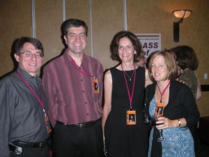 Pat Egan, George Franciscus, Julie McCullough, Lyne Vinet