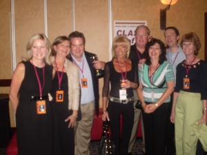 St Clements Gang: Bonnie Sawarna, Kathy Novak, Chris Bannon, Cindie Mainelli, Gord Ross,Diane Biscotti, Scott McNally, B