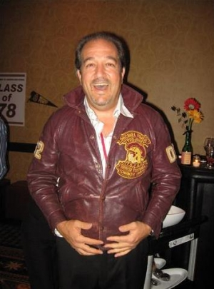 Lou Battista proudly wears his Power jacket....done up!