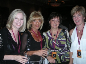 Susan Slattery, Cindie Mainelli, Cathy Megaffin, Janice Ward