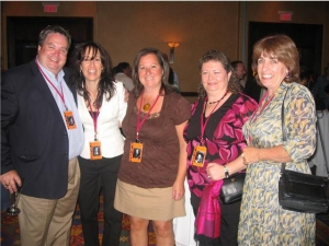 Chris Bannon, Debbie Antonacci, Rita Gallagher, Mary McDowell, Keira Timson