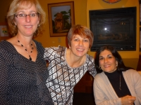 Sue Philp, Noreen Howes, Mary DiFonzo